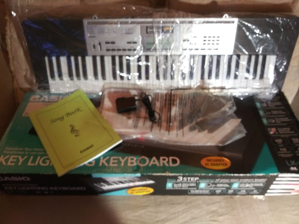Casio Key Lighting Keyboard