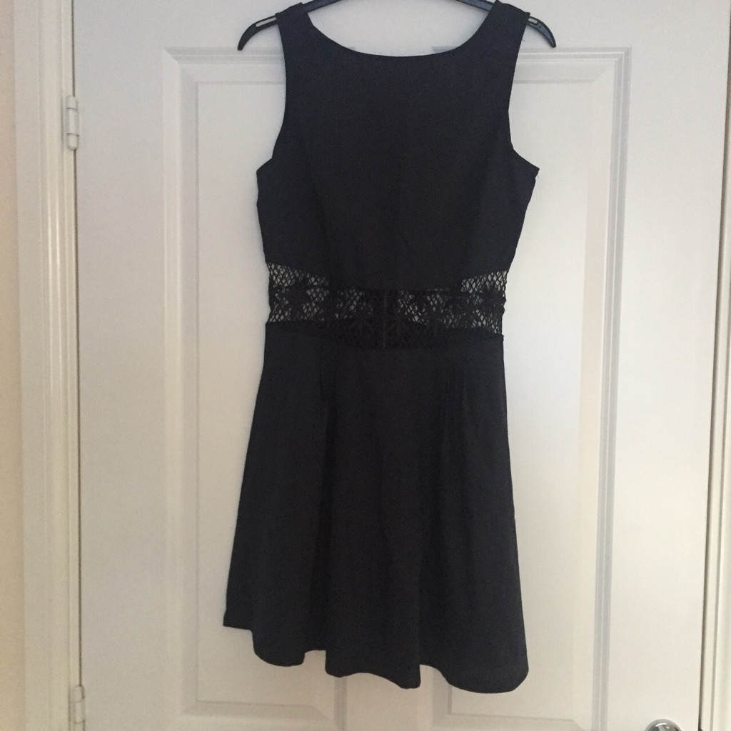 AX Paris Navy Skater Style Dress