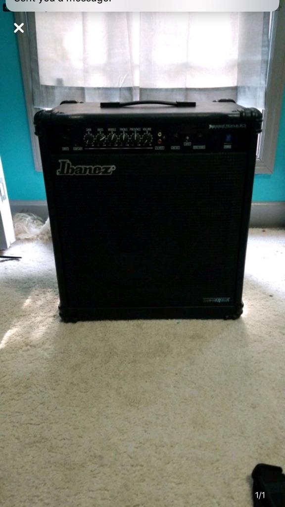Ibanez bass combo amp