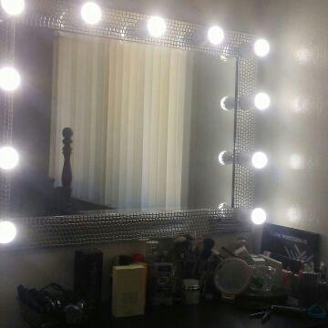 Vanity mirror 56in
