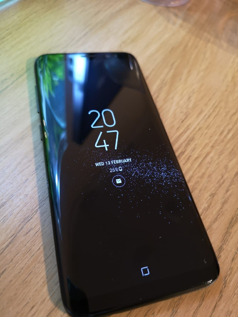 SAMSUNG GALAXY S8 PERFECT CONDITION