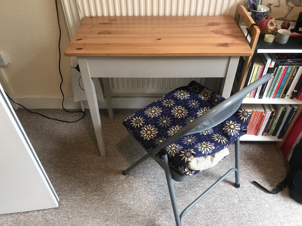 IKEA Desk and Habitat Chair