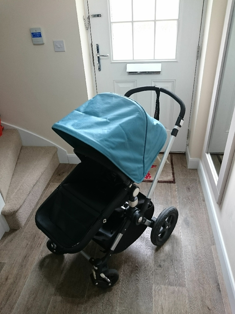 Bugaboo cameleon 3 pushchair in petrol blue