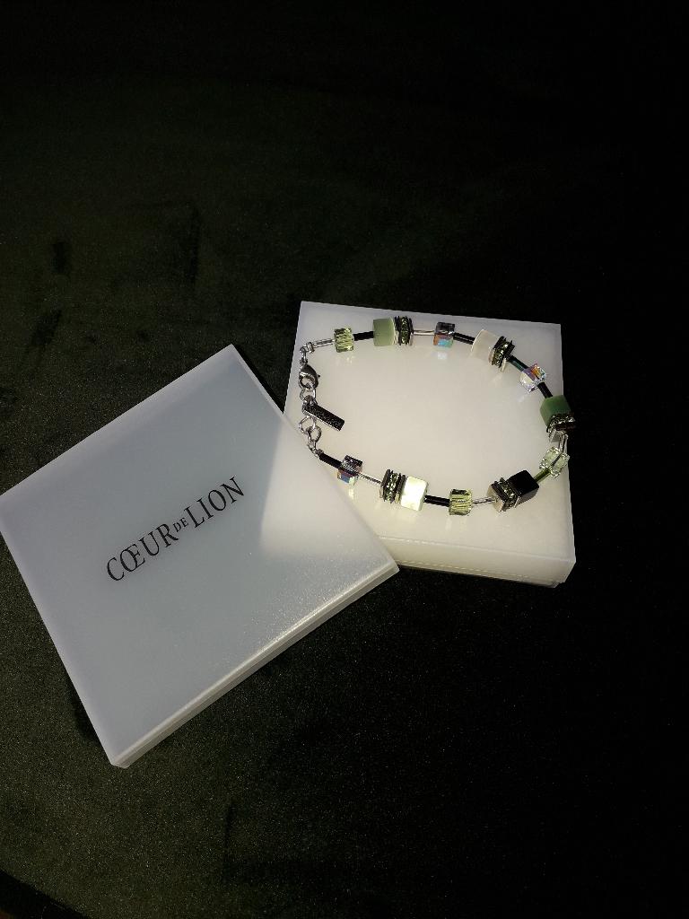 Coeur de Lion Classic Geocube Heamatite Bracelet
