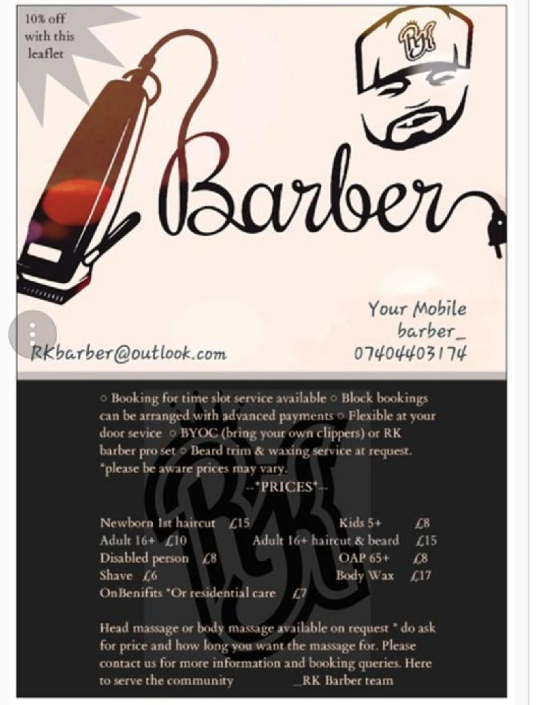 RK Barber