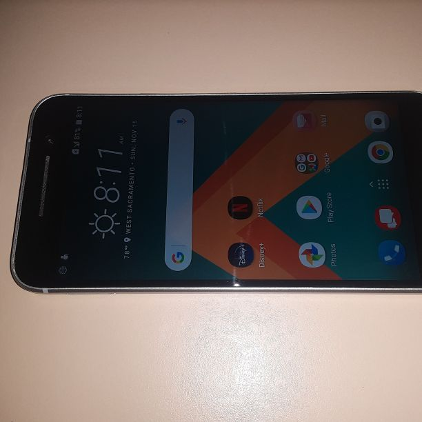HTC 10 Phone Verizon/T-Mobile/MetroPCS Phone New Without Box Clear ESN Silver