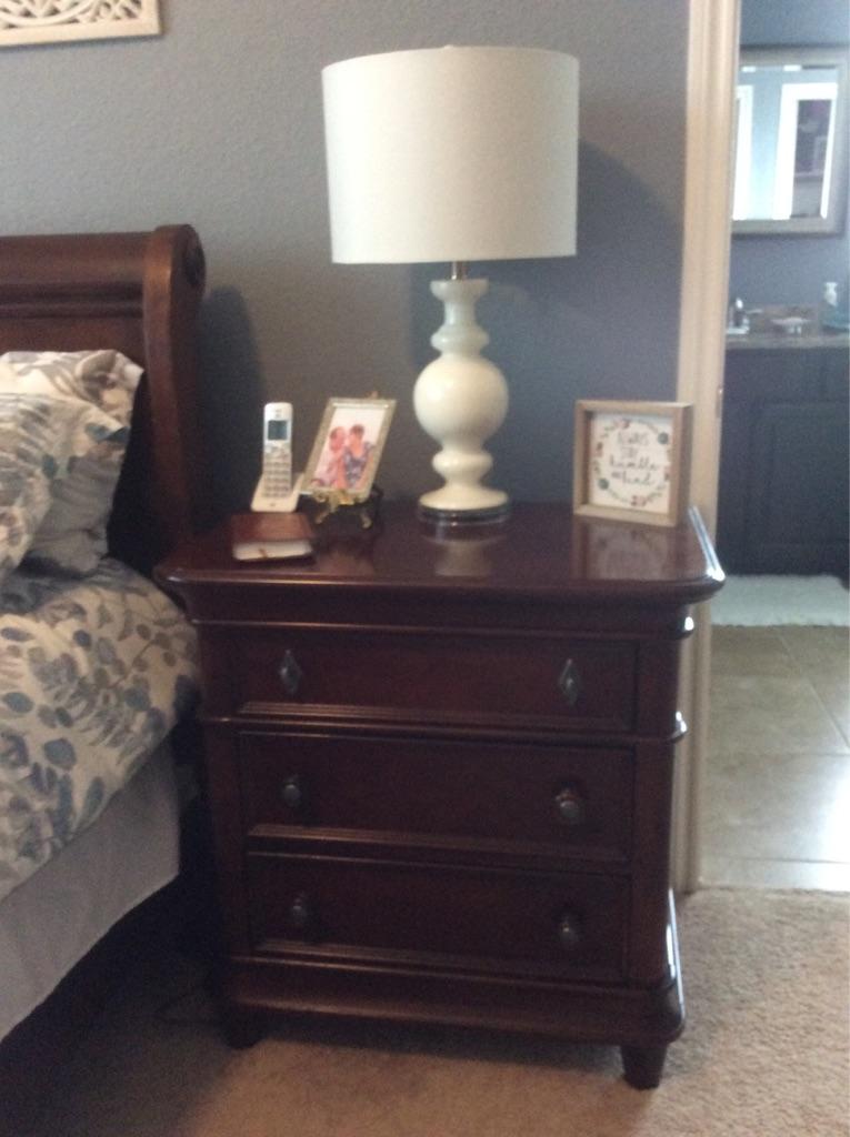 Used Cherry bedroom set