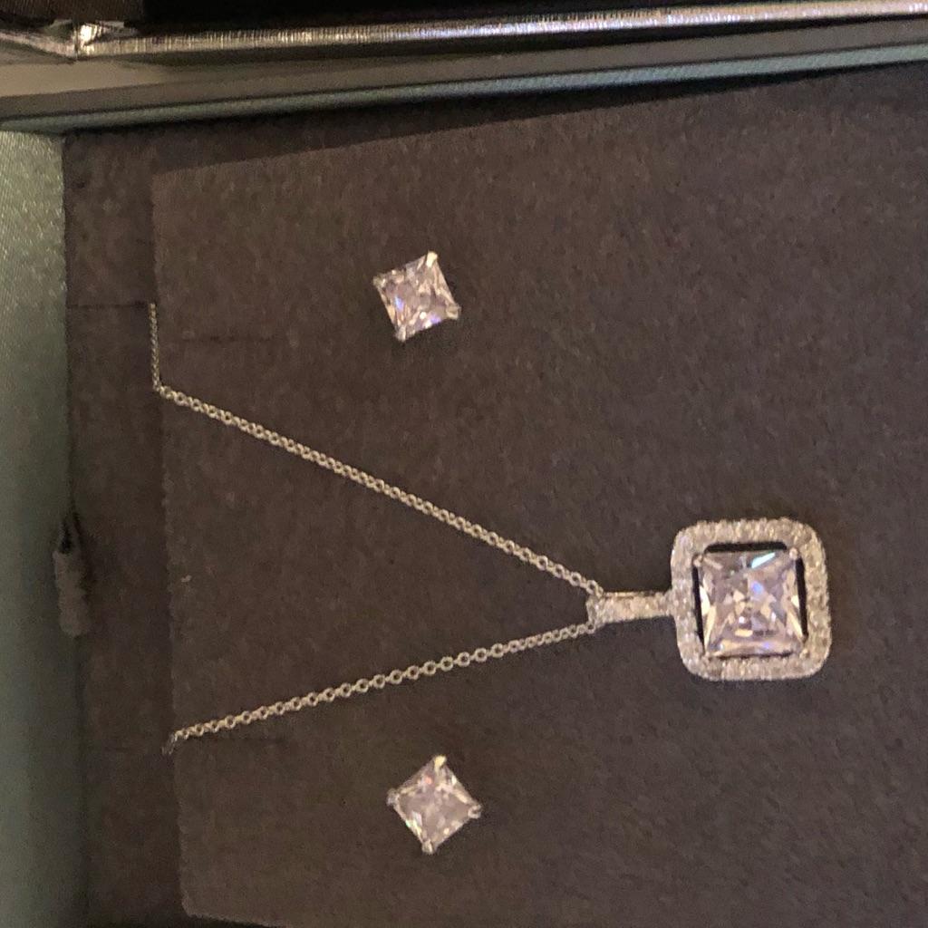 New sliver jewellery set