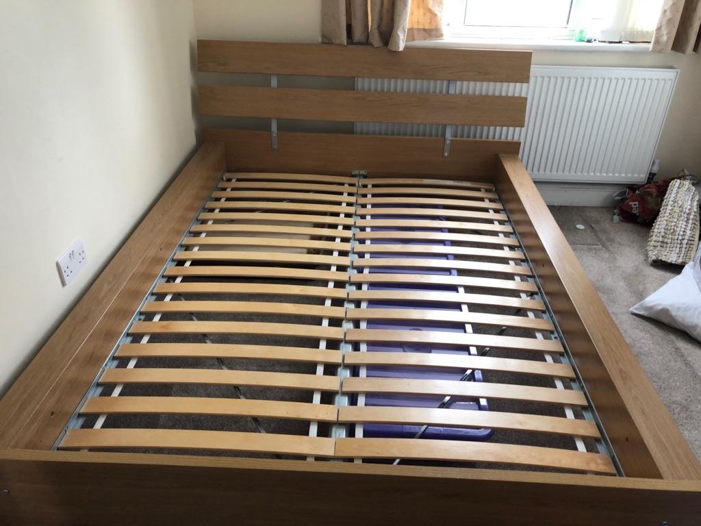 King Size Ikea Bed Frame Used Village