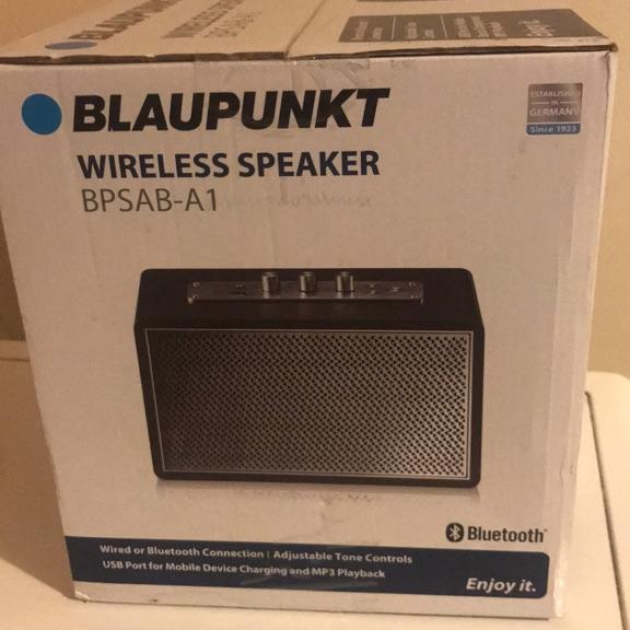 Blaupunkt Wireless Speaker- BPSAB-A1