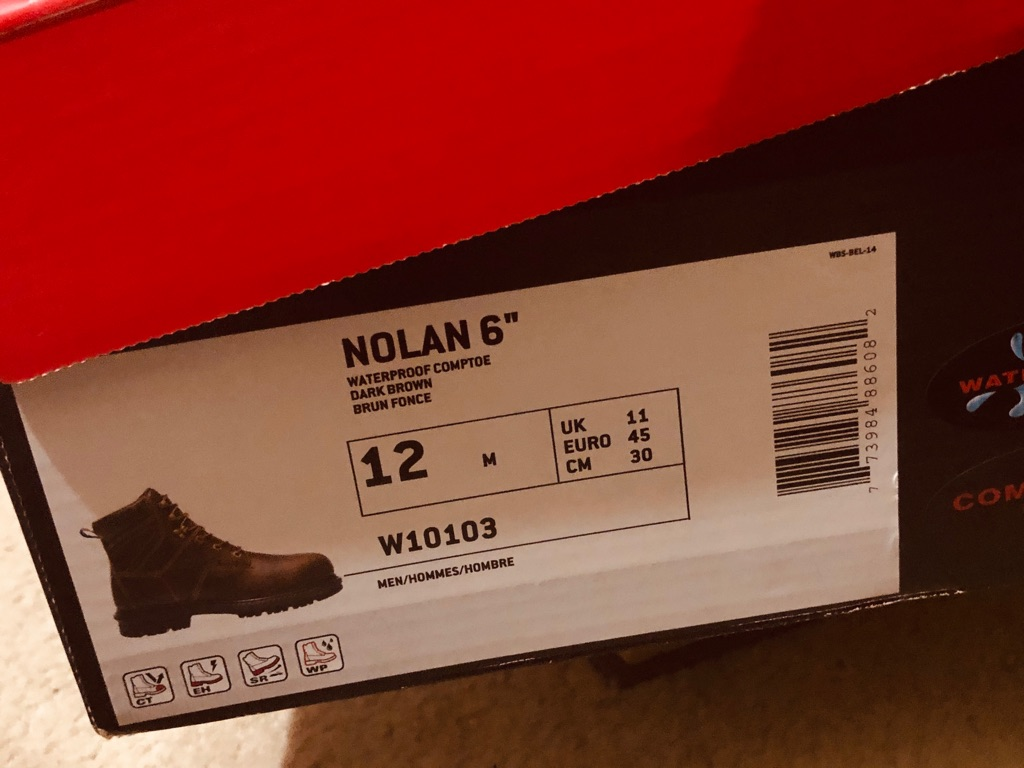 MEN SIZE 12 BRAND NEW WORK BOOTS