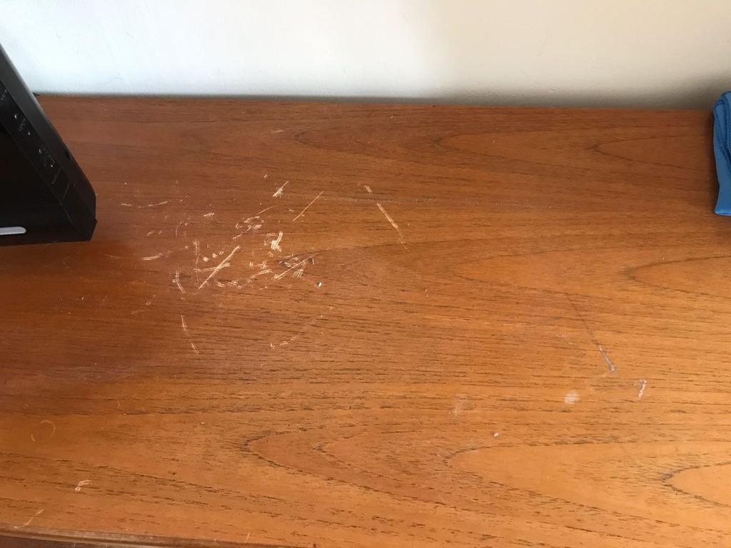 Vintage Teak Mid-century Wooden Cabinet