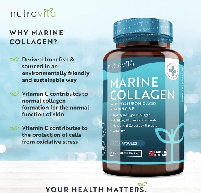 Marine collagen 15% off using my code below ⬇️