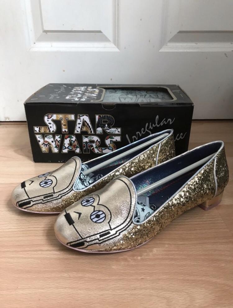 Irregular Choice Star Wars C3PO shoes size 7