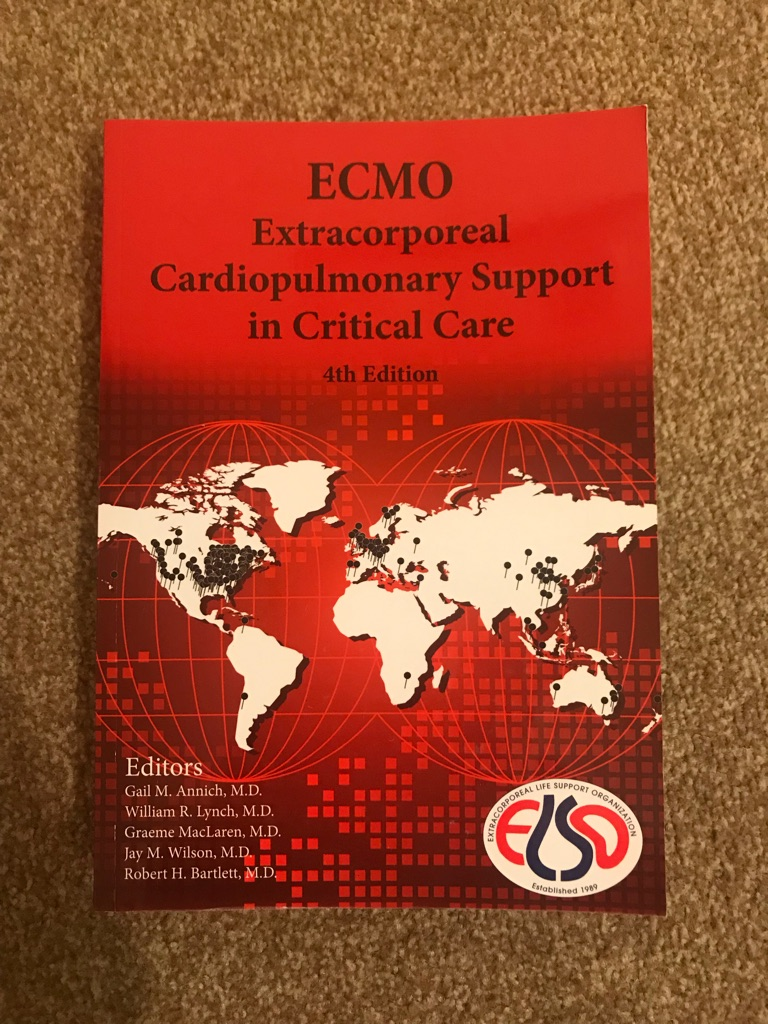 ECMO medical book