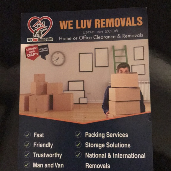 MAN & VAN + FULL HOUSE REMOVALS
