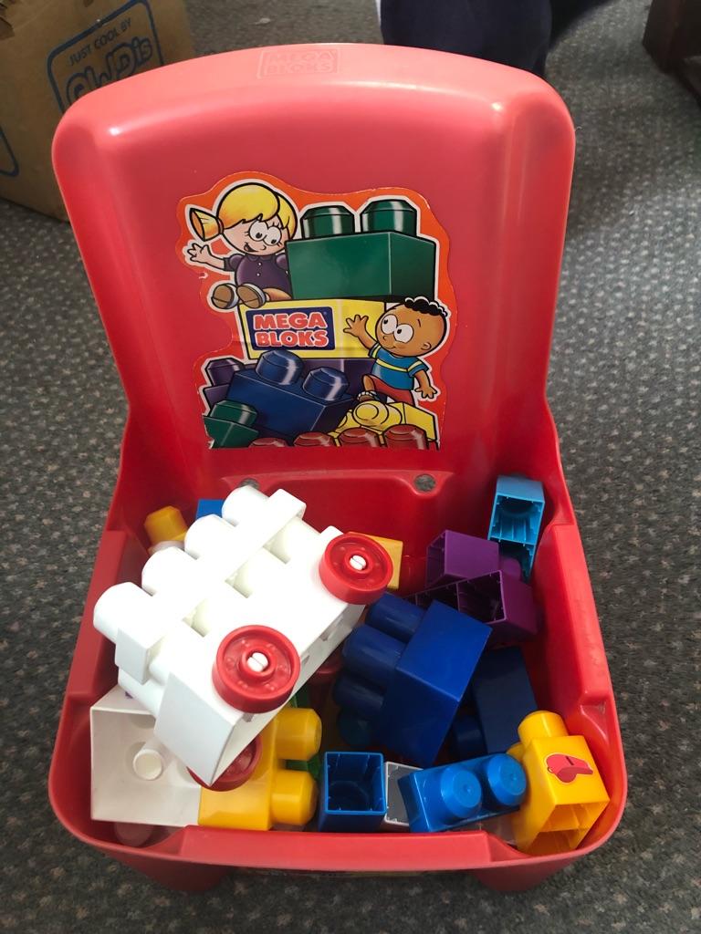 Mega Blocks Container