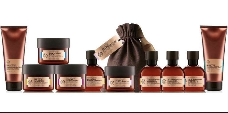 Body shop products and parties PLEASE CONTACT ME ON PHONE OR EMAIL