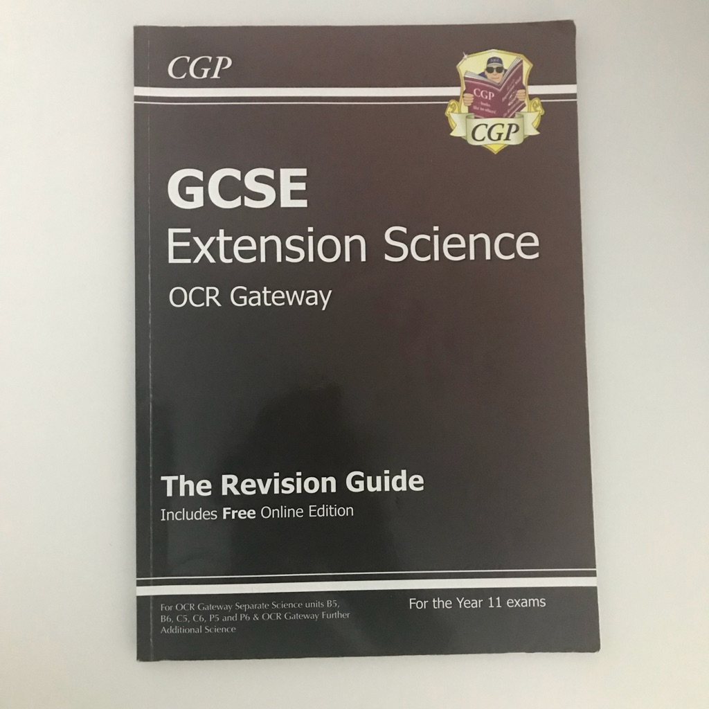 CGP OCR Gateway Extension Science book
