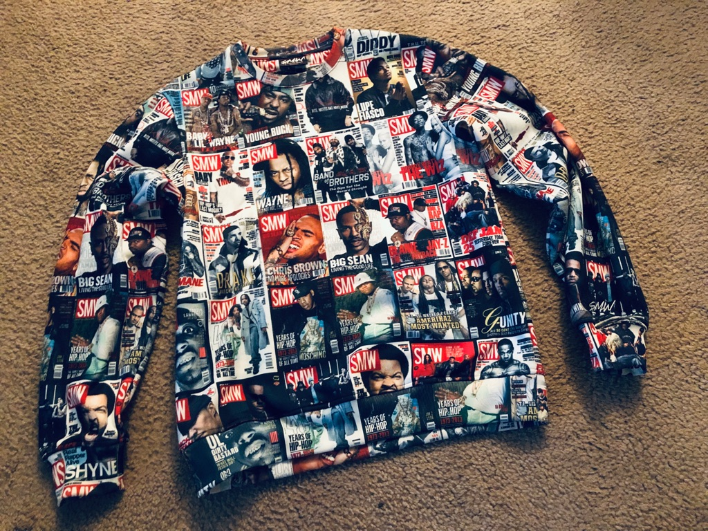 🔥🔥XL HipHop Artist Print Shirt New ✅