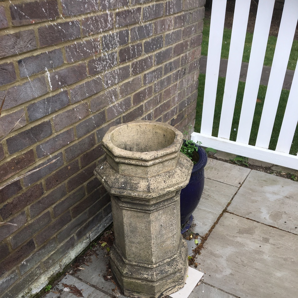 Old stone chimney from a terraced house'up North'