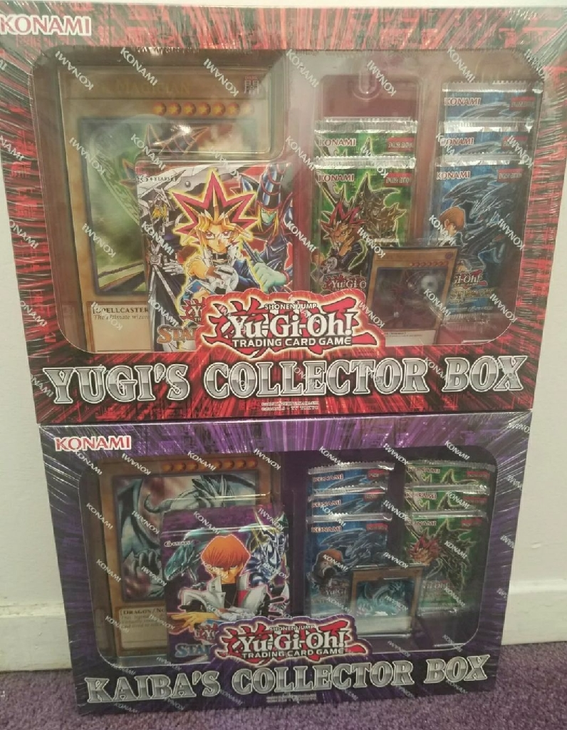 Yu-gi-oh Collector Box New And Yugi&Kaiba