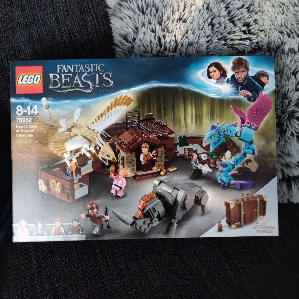 Brand New Lego Fantastic Beasts Newts Case