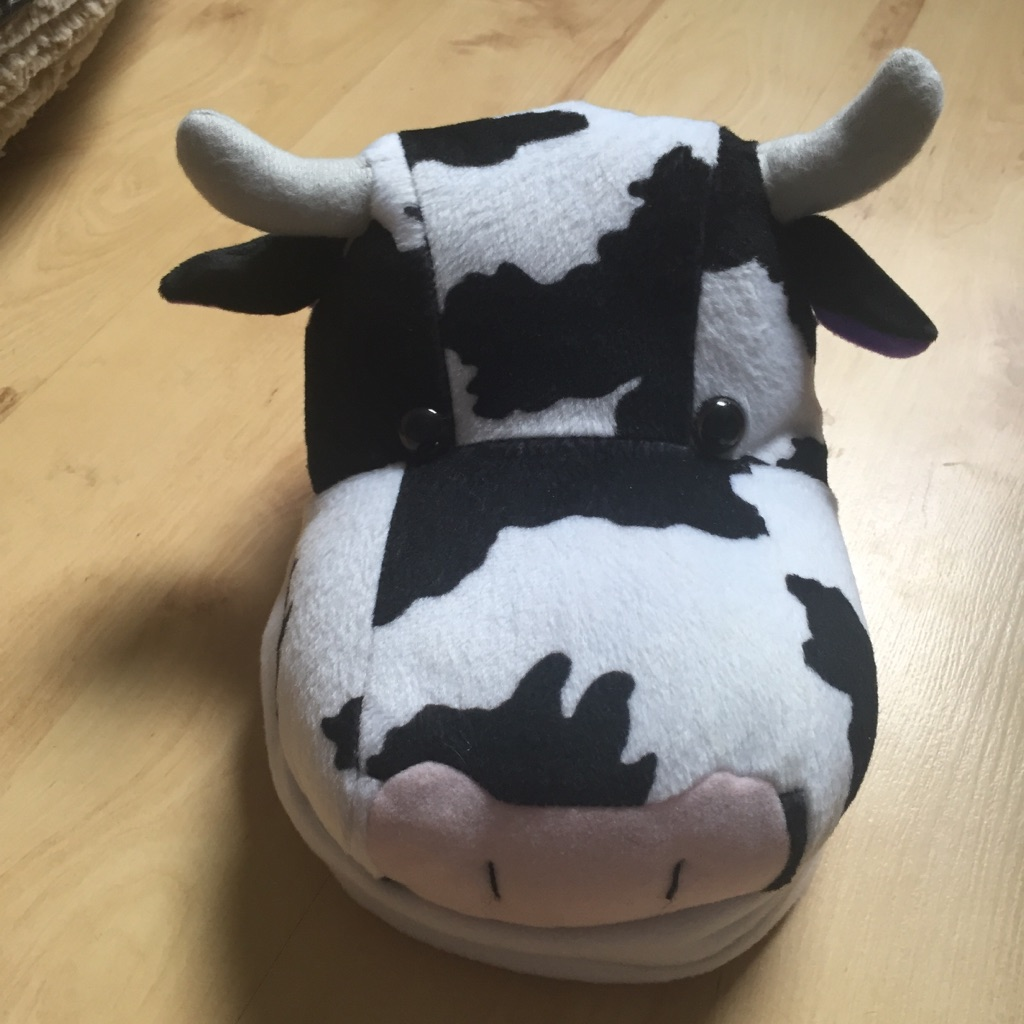 "Cow Plushie Photo Album - Holds 60 6""x4"""