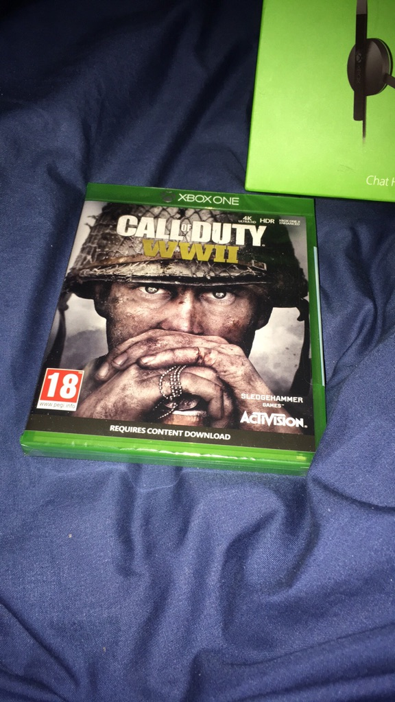 Call of duty ww2 Xbox one