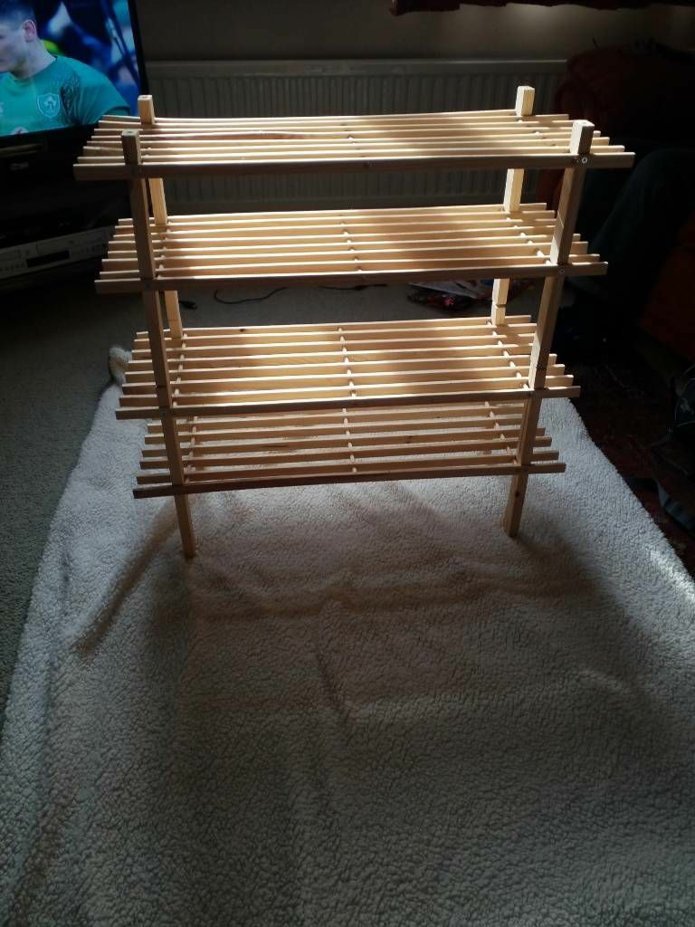 Argos Shoe Rack x2