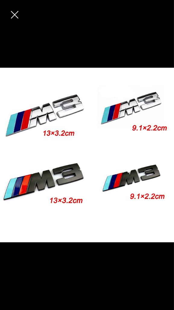 M3 Bmw badge
