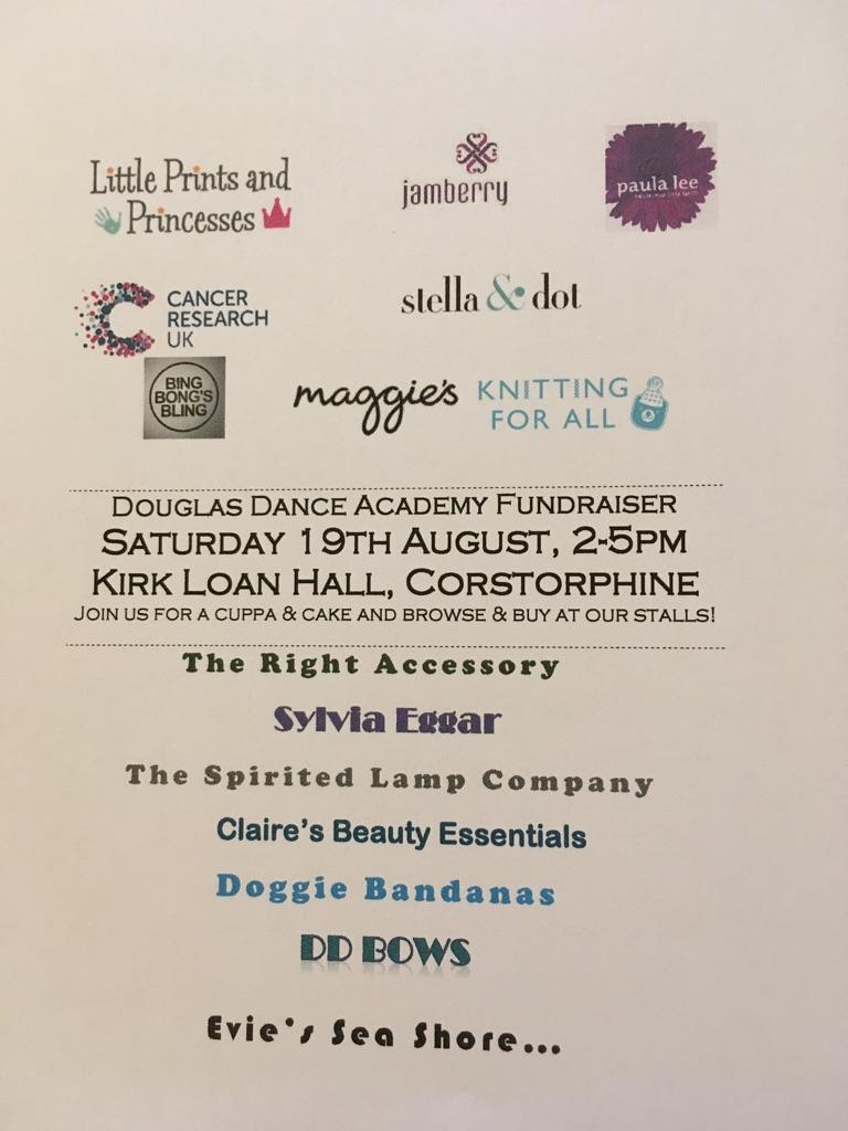 Craft Fair - 19 Aug 2pm Kirk Loan Hall