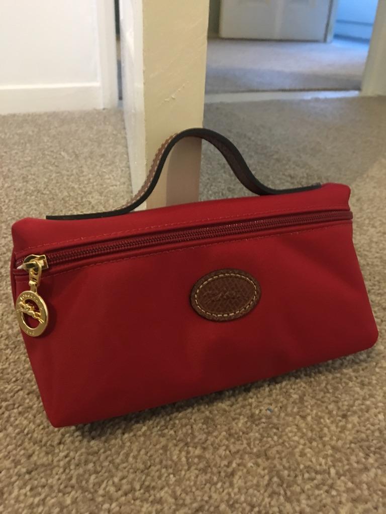 Longchamp makeup/clutch bag
