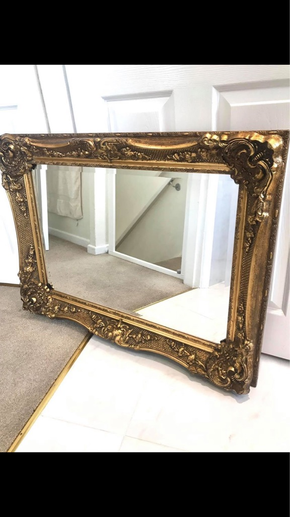 Beautiful Gold ornate mirror