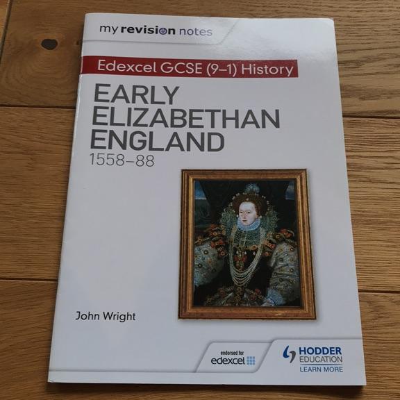 EARLY ELIZABETHAN HISTORY EDEXCEL