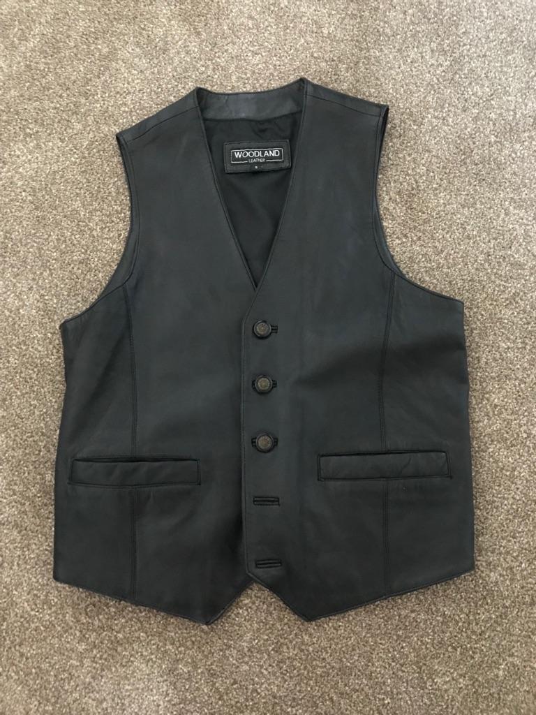 Leather waistcoat, Woodland