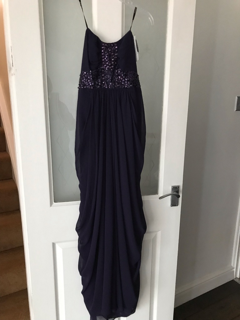 Purple ball gown/prom dress. Size 12