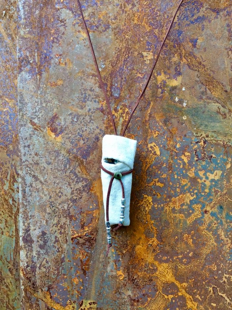 Handmade lighter holder necklace