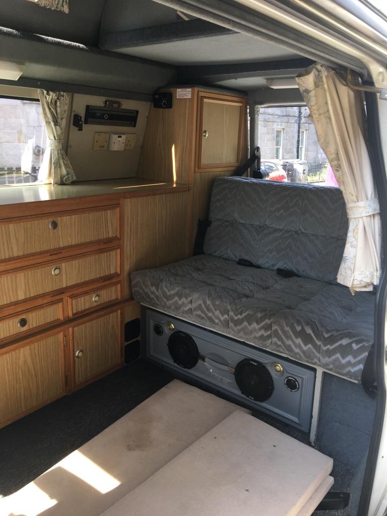 Volkswagen transporter campervan