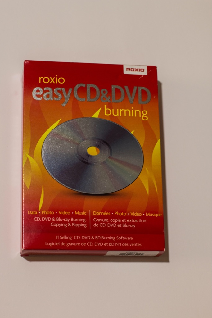 Easy CD DVD Burning