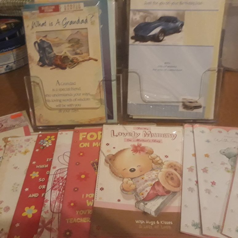 Greeting card parties