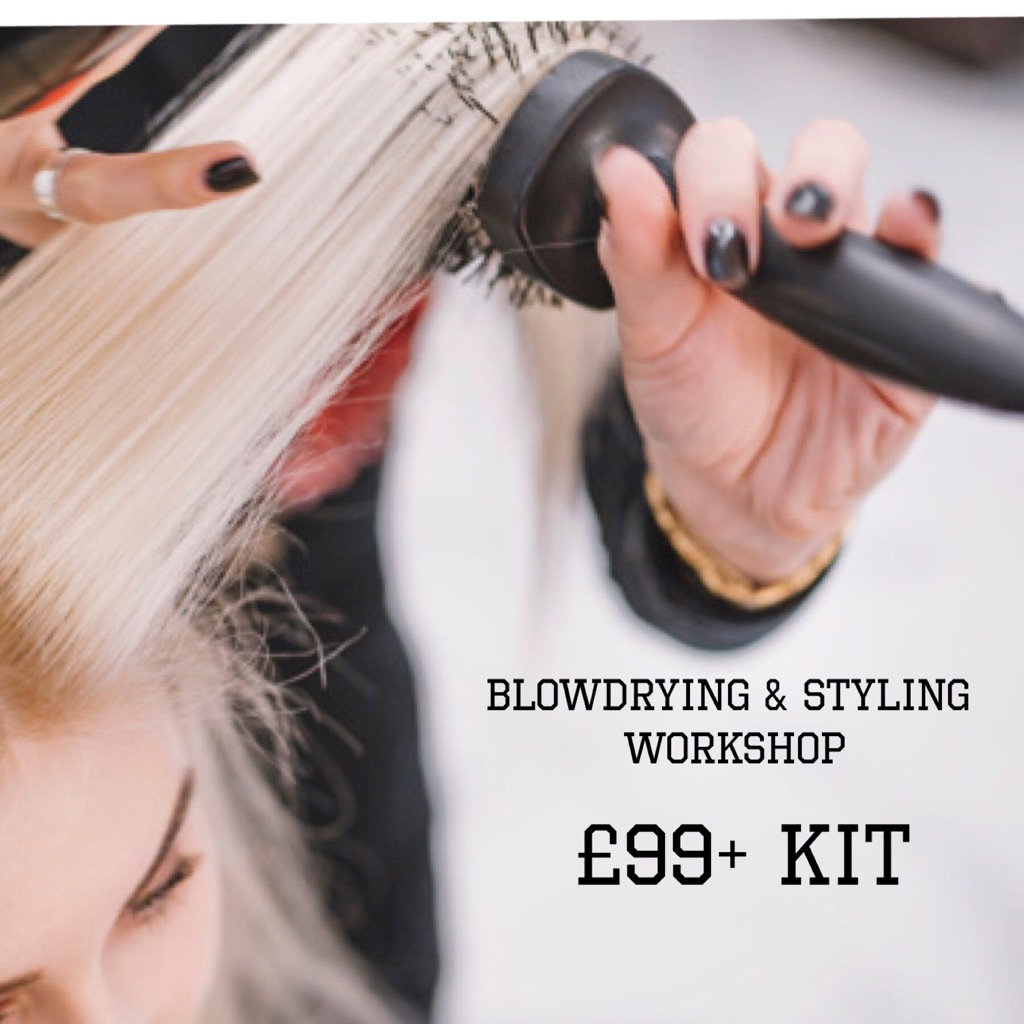 Blowdrying Workshop Hair Up Workshop