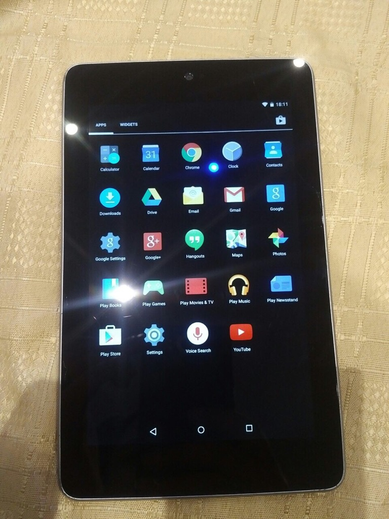 Tablet 8GB only WiFi
