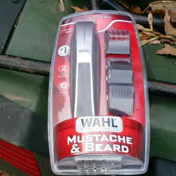 Wahl mustache and beard trim
