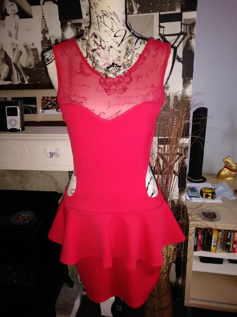 Sexy red dress