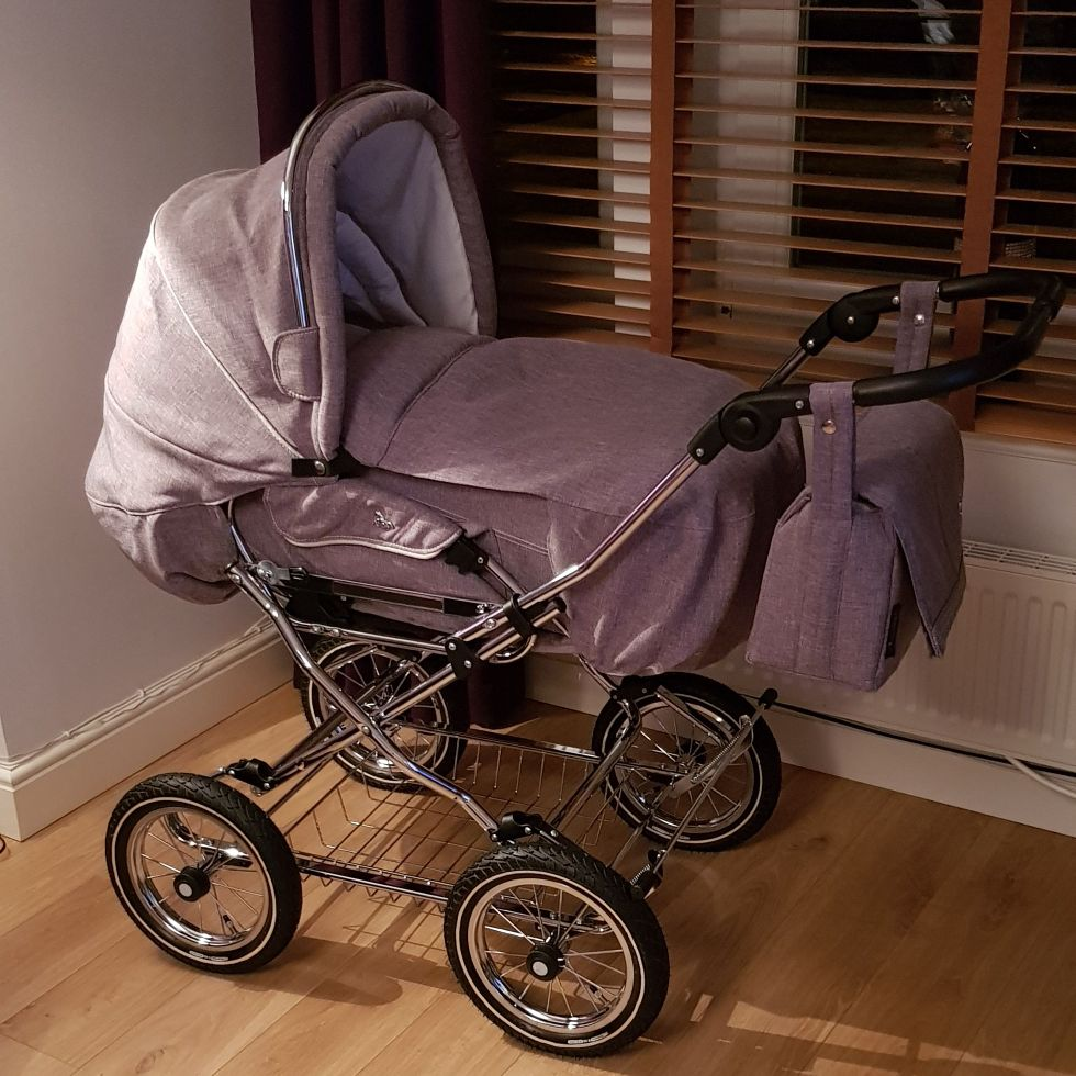 Grey Churchill Pram