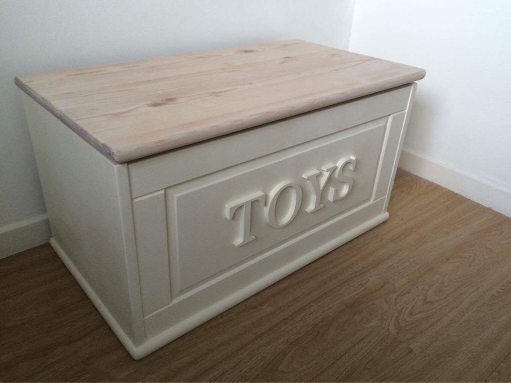 Refurbished Wooden Toy Box | Village