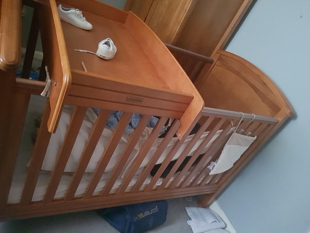 Mama's and papas nursery furniture