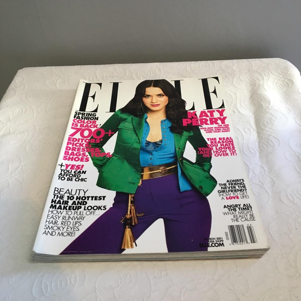 Elle Magazine - March 2011 - US Copy