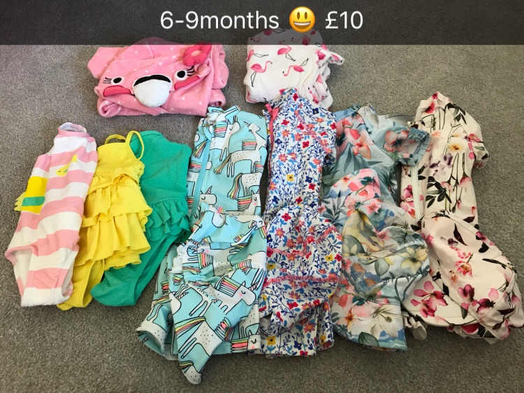 Baby girls clothes 3-6 & 6-9 months